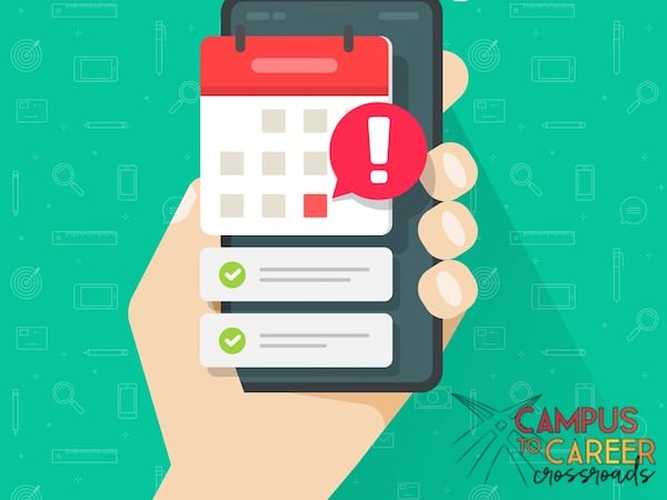 Calendar Reminders are Great for Career Management Reminders