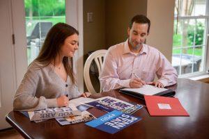 Jason Vallozzi advising on the college admissions process