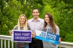 Helping students get into High Point University and Penn State