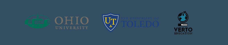 University of Toledo and Ohio University logos