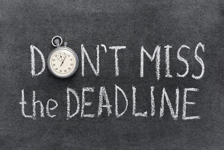 Do Not Procrastinate Essay Deadlines