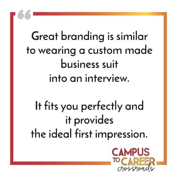 Personal Branding Defines Your First Impression